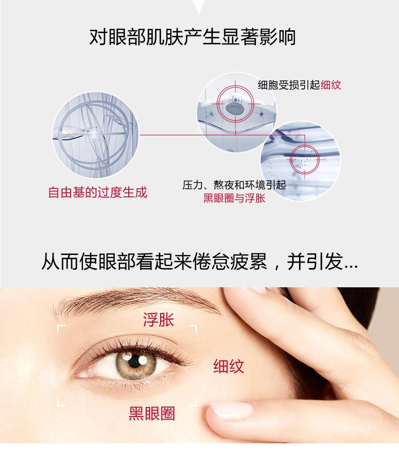 对眼部肌肤产生显著影响